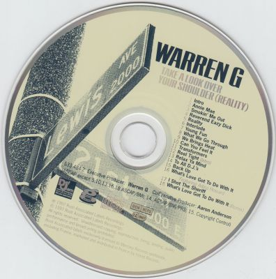 Warren G - Take A Look Over Your Shoulder (Reallity)-cd